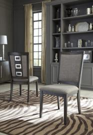 Ashley D624-01 Chadoni Dining Chair Set of 2 in Grey