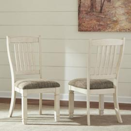 Ashley D647-01 Bolanburg Dining Chair Set of 2 in Two-Tone