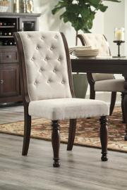 Ashley D697-04 Porter Dining Chair Set of 2 in Rustic Brown