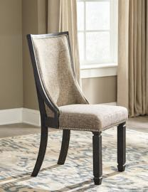 Ashley D736-02 Tyler Creek Dining Chair Set of 2 in Black/Gray
