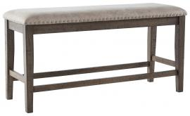 Ashley Johurst Beige & Brown Finish D762-09 Counter Height Bench