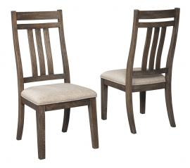 Ashley Redlands Rustic Brown D813-01 Dining Chair Set of 2