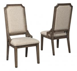 Ashley Redlands Rustic Brown D813-02 Dining Chair Set of 2