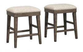 Ashley Redlands Rustic Brown D813-024 Bar Stools Set of 2