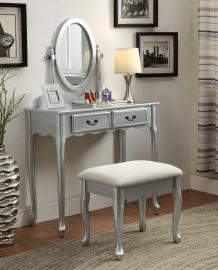 Adriana DK6431SV Silver Vanity Collection