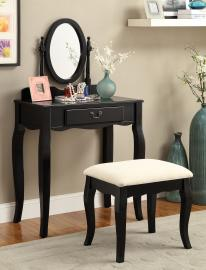 Samantha DK6433BK Black Vanity Collection