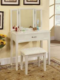 Potterville DK6490WH White Vanity Collection