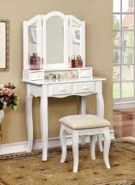 Janelle DK6846WH White Vanity Collection