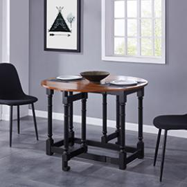 DN1315 Sheringham By Southern Enterprises Drop-Leaf Dining Table