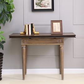 DN2975 Lilburn By Southern Enterprises Convertible Console to Dining Table