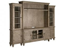Lancaster Magnussen Collection E4352 Entertainment Wall Unit