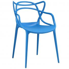 Entangled EEI-1458 Blue Creative Dining  Arm Chair