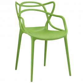 Entangled EEI-1458 Green Creative Dining  Arm Chair