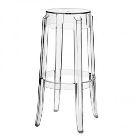 Casper EEI-170 Clear Sturdy Bar Stool