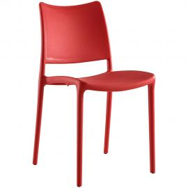 Hipster EEI-1703-RED Red Modern Dining Side Chair