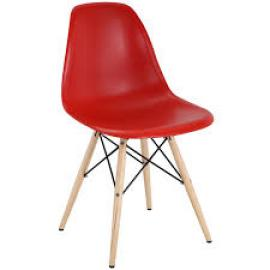 Pyramid EEI-180 Red Dining  Side Chair