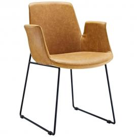 Aloft EEI-1806 Tan Transitional Dining  Arm Chair