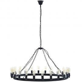 "EEI-2118 Brown Teleport 52"" Chandelier"