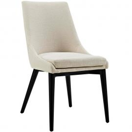 Viscount EEI-2227-BEI Beige Fabric Parson Dining Side Chair