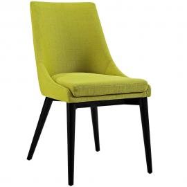 Viscount EEI-2227-WHE Wheatgrass Fabric Parson Dining Side Chair