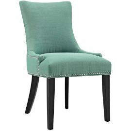 Marquis EEI-2229-LAG Laguna Fabric with Nailhead Trim Dining Side Chair