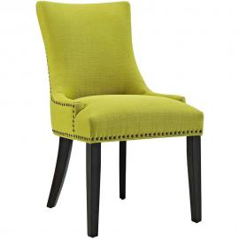 Marquis EEI-2229-WHE Wheatgrass Fabric with Nailhead Trim Dining Side Chair