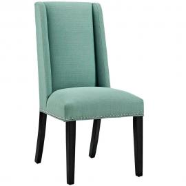 Baron EEI-2233-LAG Laguna Fabric Wing Back Dining Side Chair