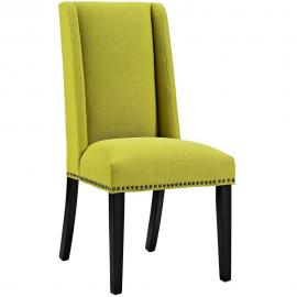 Baron EEI-2233-WHE Wheatgrass Fabric Wing Back Dining Side Chair
