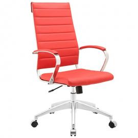 Jive EEI-272 Red High-Back Office Chair