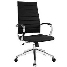 Jive EEI-272 Black High-Back Office Chair
