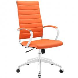 Jive EEI-272 Orange High-Back Office Chair