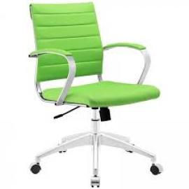 Jive EEI-273 Bright Green Mid-Back Office Chair