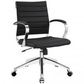 Jive EEI-273 Black Mid-Back Office Chair