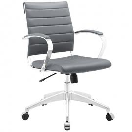Jive EEI-273 Gray Mid-Back Office Chair