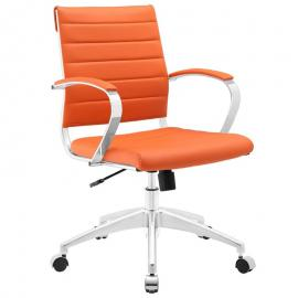 Jive EEI-273 Orange Mid-Back Office Chair