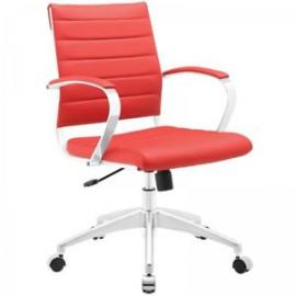 Jive EEI-273 Red Mid-Back Office Chair