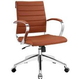 Jive EEI-273 Terracotta Mid-Back Office Chair