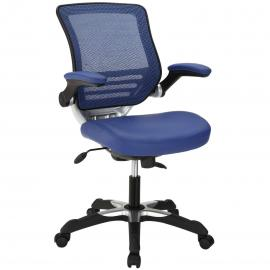 Edge EEI-595 Blue Vinyl Office Chair