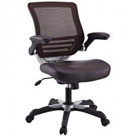 Edge EEI-595 Brown Vinyl Office Chair
