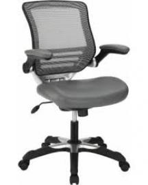 Edge EEI-595 Gray Vinyl Office Chair