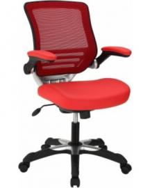 Edge EEI-595 Red Vinyl Office Chair