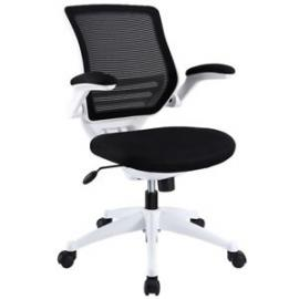 Edge EEI-596 Black Mesh and White Base Office Chair