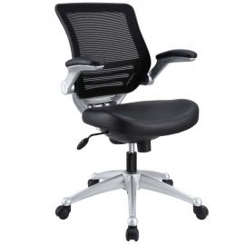 Edge EEI-597 Black Leatherette Office Chair