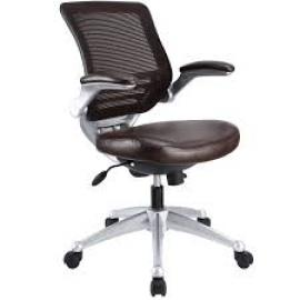 Edge EEI-597 Brown Leatherette Office Chair