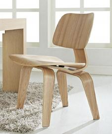 Fathom EEI-620-NAT Natural Finish Wood Dining Side Chair