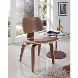 Fathom EEI-620-WAL Walnut Finish Wood Dining Side Chair