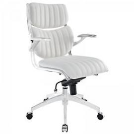 Escape EEI1028 White Midback Office Chair