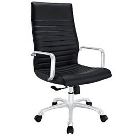 Finesse EEI1061 Highback Black Leatherette Office Chair