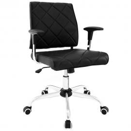Lattice EEI1247 Black Vinyl Office Chair