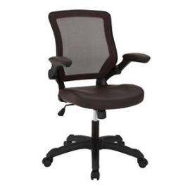 Veer EEI291BRN Brown Vinyl Office Chair